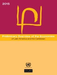 Preliminary Overview of the Economies of Latin America and the Caribbean 2015