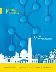 Exhibitor Prospectus - Society of Nuclear Medicine