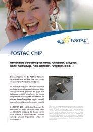 FOSTAC Chip Flyer (PDF) - Fostac AG