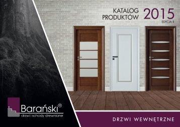 Barański katalog drzwi wewnętrzne 2015