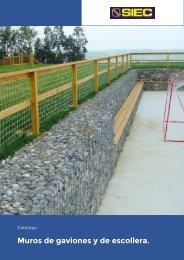 10.- Catálogo Muro de gaviones y de escollera