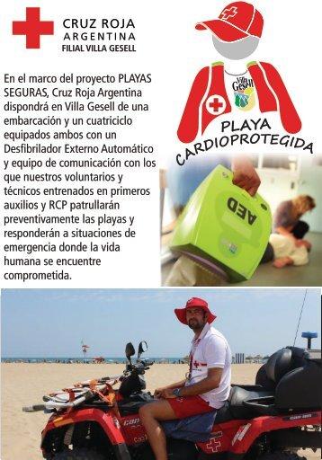 Villa Gesell es Playa Cardioprotegida