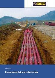 11.- Catálogo redes eléctricas soterradas