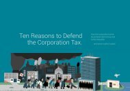 Ten Reasons to Defend the Corporation Tax