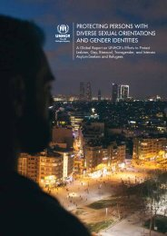 PROTECTING PERSONS WITH DIVERSE SEXUAL ORIENTATIONS AND GENDER IDENTITIES