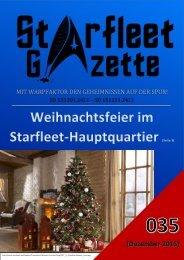 Starfleet-Gazette, Ausgabe 035 (Dezember 2015)