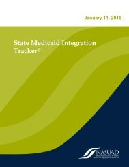 State Medicaid Integration Tracker