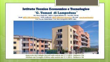 """ITET """"G. Tomasi di Lampedusa"""" POF 2015-2016"""