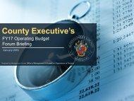 County Executive's