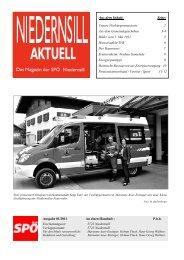 Ausgabe 01/2011 - SPÖ-Niedernsill