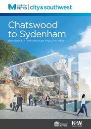 Chatswood to Sydenham