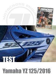 MCE Test -Yamaha YZ 125/2016