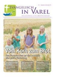 Vom Korn zum Brot Vom Korn zum Brot - Ev.-luth. Kirchengemeinde ...