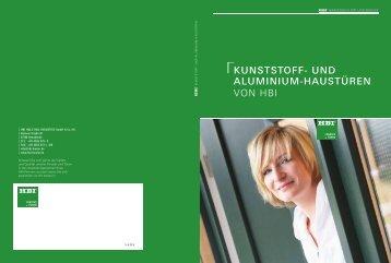 KUNSTSTOFF- UND ALUMINIUM-HAUSTüREN von HBi - Hometrade