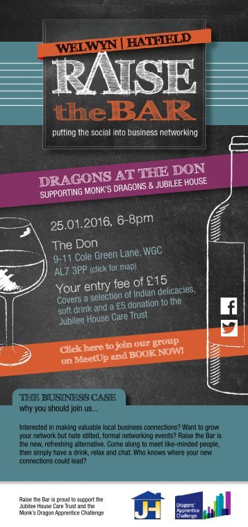 Raise the Bar - Dragon's at the Don