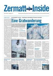 Lawinengefahr im Spiss – langfristig die ... - Zermatt Inside