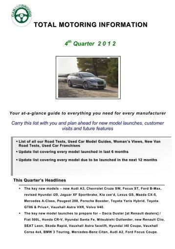 total motoring information 4 - Car & Driving