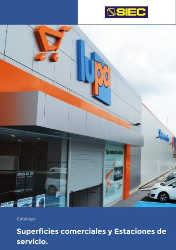 12.- Catálogo Superficies comerciales y Estaciones de servicio