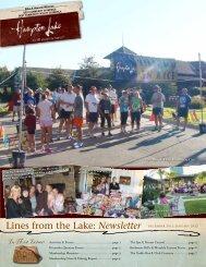 Newsletter - Hampton Lake