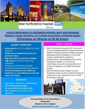 Entrevistas en Murcia el 20 de Enero