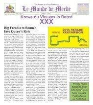 Le Monde de Merde XXX