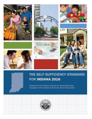 THE SELF-SUFFICIENCY STANDARD FOR INDIANA 2016