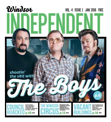 Windsor Independent - January 2016