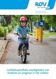 Leeftijdsspecifieke vaardigheden van kinderen en jongeren in het verkeer