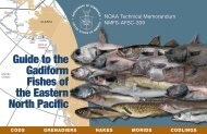 Guide to the Gadiform Fishes of the Eastern North Pacific