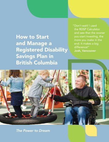 How to Start and Manage a Registered Disability Savings Plan in British Columbia