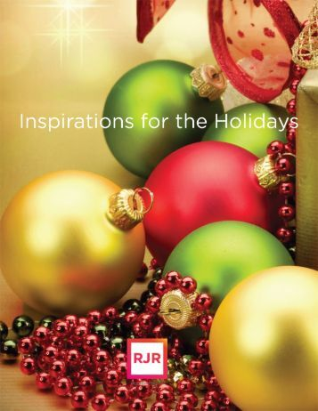 RJR Holiday Inspiration Brochure