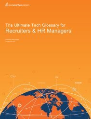 Recruiters & HR Managers