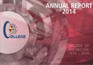ANNUAL REPORT 2014 FINAL VERSION