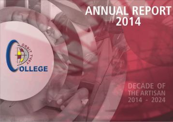 ANNUAL REPORT 2014 FINAL VERSION
