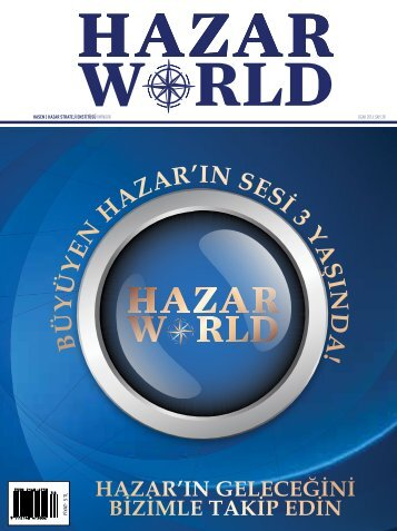 HAZAR WORLD - SAYI 38 - Ocak 2016