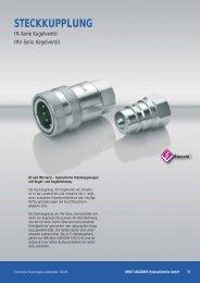 STECKKUPPLUNG - Ernst Wagener Hydraulikteile GmbH