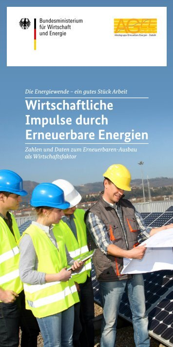 Wirtschaftliche Impulse durch Erneuerbare Energien
