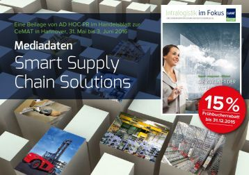 Mediadaten Smart Supply Chain Solutions CeMAT 2016 in Hannover