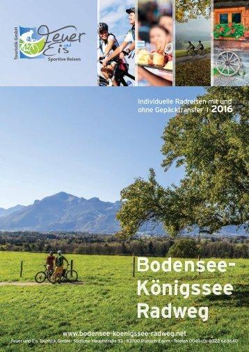 Bodensee-Königssee-Radweg 2016