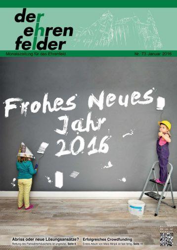 Der Ehrenfelder 73 - Januar 2016