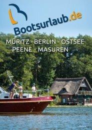 Bootsurlaub.de Katalog 2017