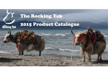 The Rocking Yak 2015 Product Catalogue