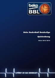 Beko Basketball Bundesliga Beko Basketball Bundesliga Xyz Spielordnung