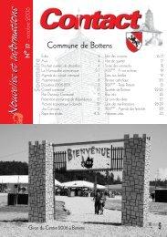 Nouvelles et informations Nouvelles et informations - Bottens