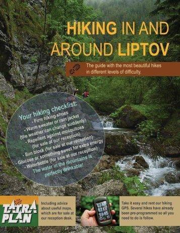 Hiking in and around Liptov