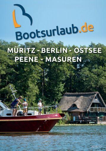 Bootsurlaub Katalog2016