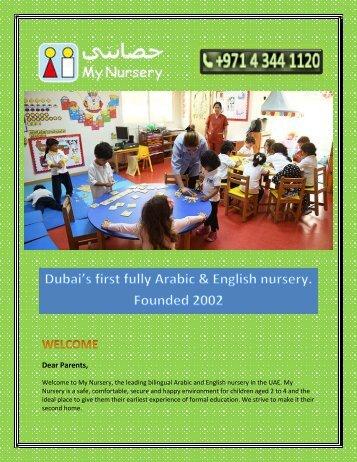 Kindergarten Dubai