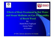 Effects of Heat Treatment on Gas Permeability