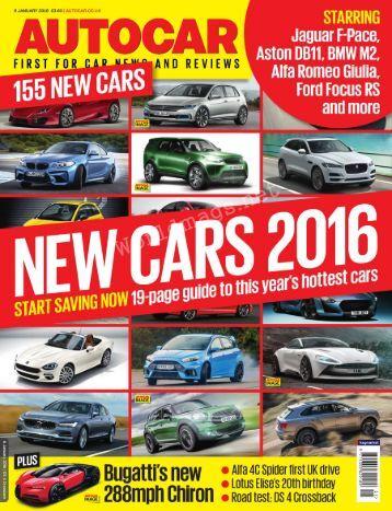Autocar UK – 6 January 2016