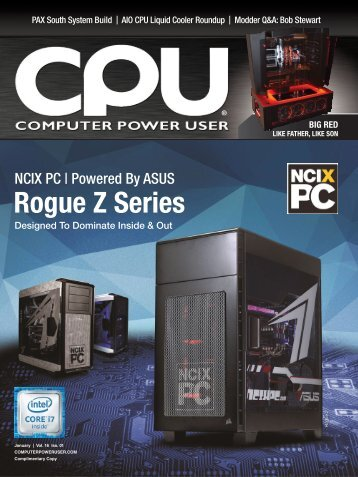 Computer Power User – January 2016